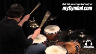 "Sabian 20"" AA Raw Bell Crash Cymbal - Brilliant (2200772B-1012314V)"