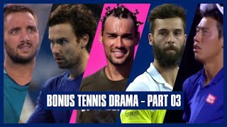 Bonus Tennis Drama | Part 04 | Where's My Chocolates?! - We Cannot Stop the Match For Chocolates!