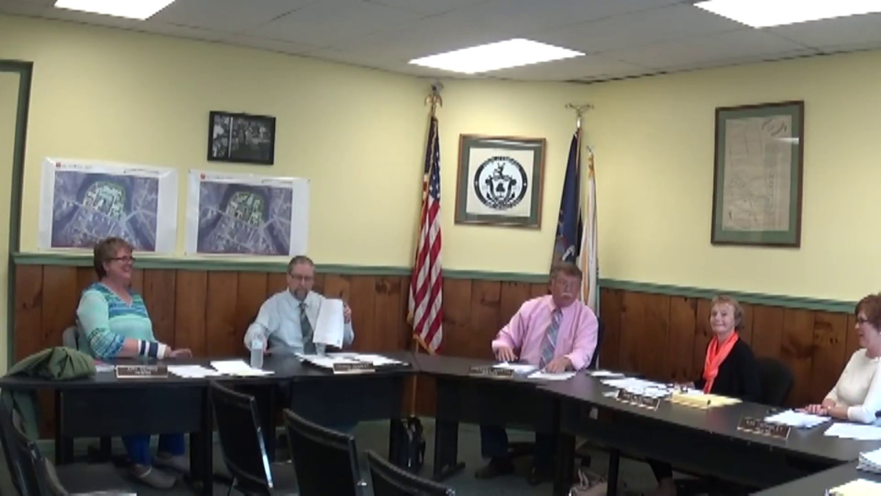 Champlain Village Board Meeting  5-8-17