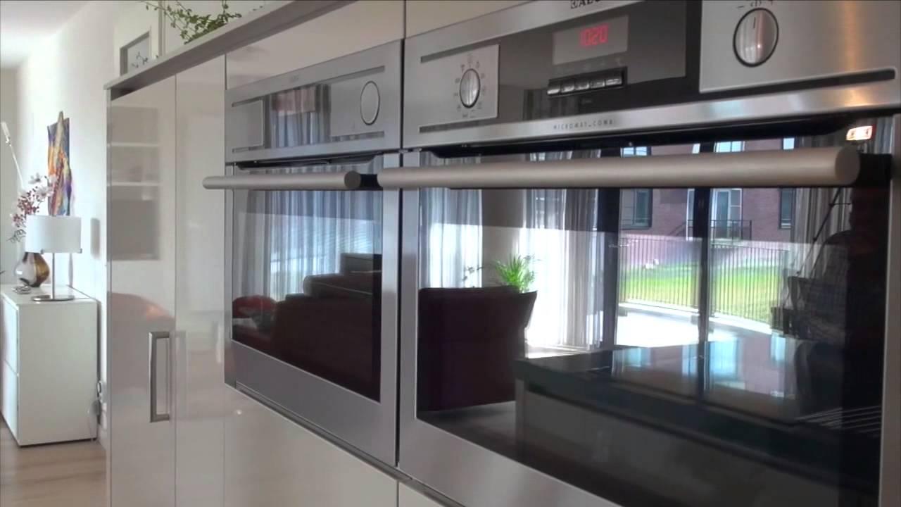 Hoogglans keuken met moderne apparatuur 2016-12-10