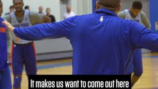 Coach Fizdale is Bringing a New Edge to Knicks Camp