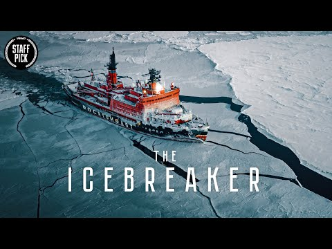 Enjoy this video featuring an enormous, nuclear-powered icebreaker