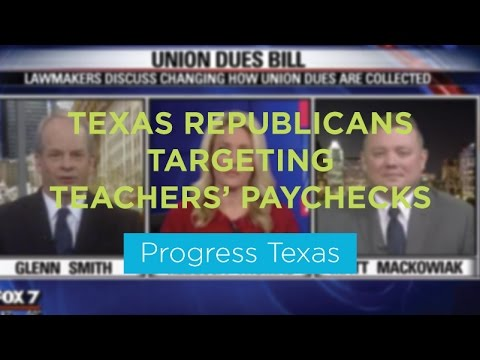 FOX 7 Debate: Lawmakers discuss Union Dues Bill