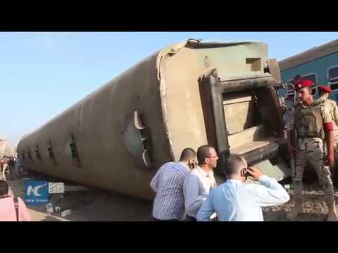 Over 150 killed and injured in Egypt's train crash