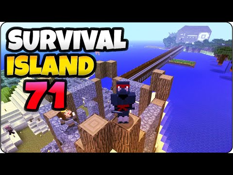 Minecraft PS4 Survival Island Episode 71 - Hot Air Balloon Tower- Let's Play/ Walkthrough Gameplay
