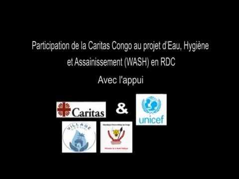 Participation de Caritas RDC au Programme WASH