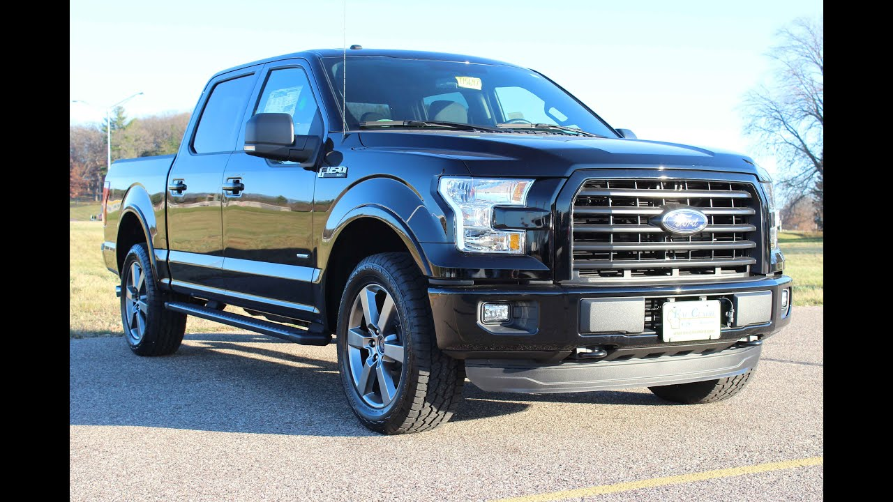 2016 ford f 150 xlt supercrew cab youtube. Black Bedroom Furniture Sets. Home Design Ideas