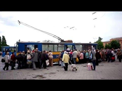 Trolleybuses in Ukraine (Chernihiv) - public transport