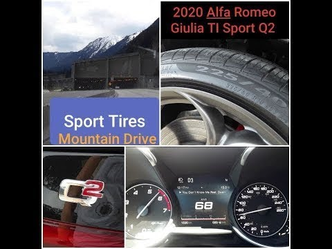 19 Pirelli All weather Run Flat Sport Tires Mountain driving on the notorious Coquihalla highway