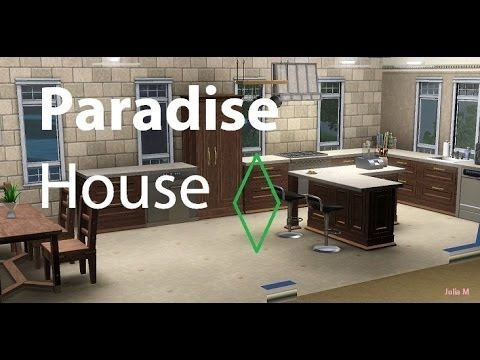 "The Sims 3: Building ""Paradise House"" in Isla Paradiso"