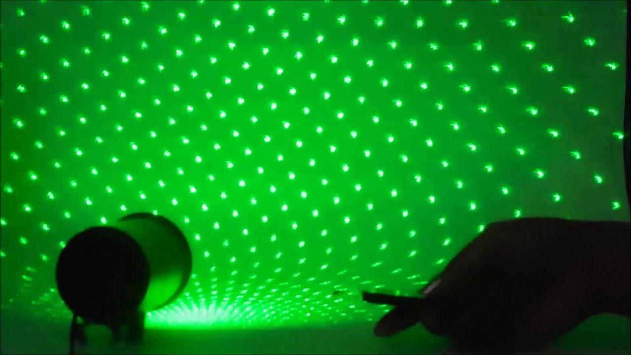 15f42486888 Proyector Laser De Luces Navideñas Con Control Remoto - YouTube