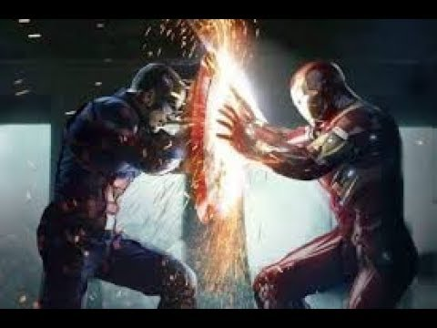 Ironman And Captain America Fight Scene Hd In Tamil Mersal Remix