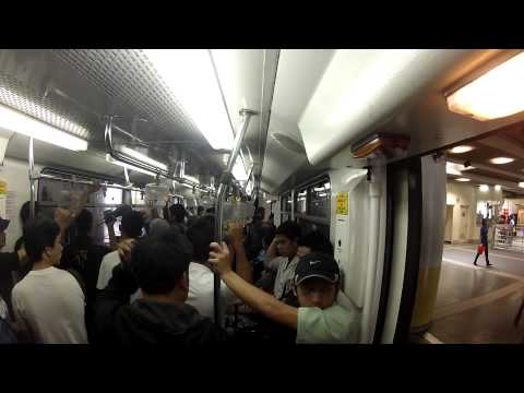 Manila LRT and MRT 14 08 2012 part2