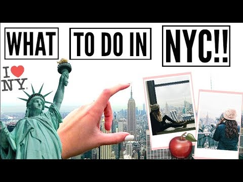 10 THINGS YOU HAVE TO DO IN NEW YORK CITY!! || Travel Guide 2018 + GIVEAWAY!!!