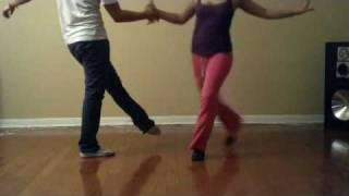 Fast Salsa Footwork Practice
