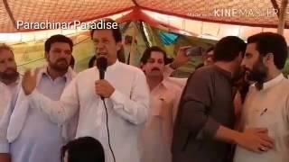 Imran khan (PTI) at Parachinar