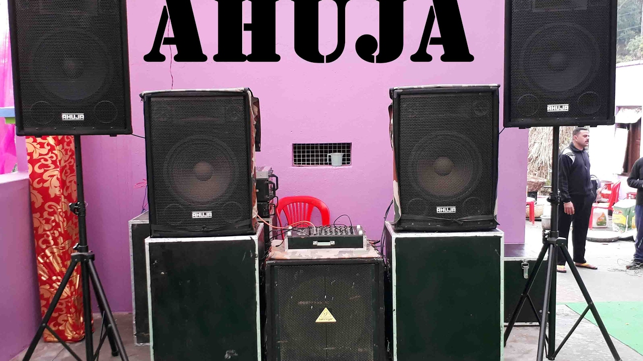 Dj Sound System Ahuja Speakers Youtube