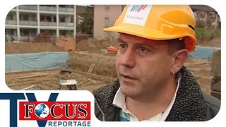 Deutsche Gastarbeiter in der Schweiz - Billiglöhner auf der Spur    Focus TV Reportage