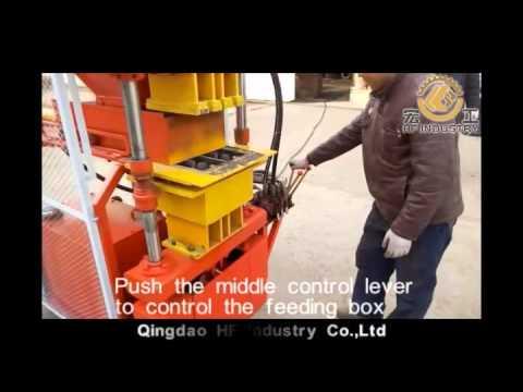 HF2-10 CLAY INTERLOCKING BRICK MAKING MACHINE  - Qingdao HF Industry CO.,Ltd