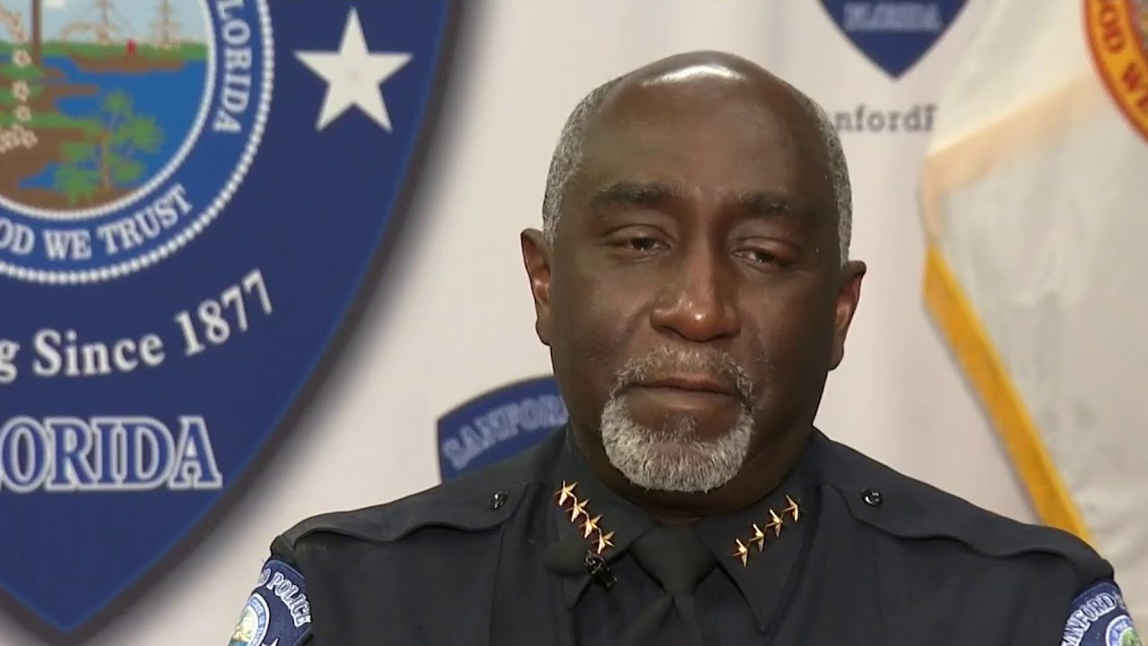Download Sanford police chief shares lessons of healing, reconciliation after Trayvon Martin's death