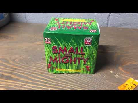 Small but mighty-Shogun fireworks-200g-DEMO-REALLY LOUD
