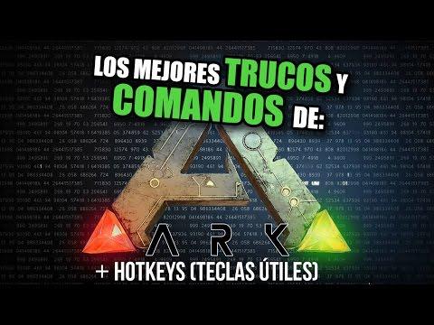 Guía de TRUCOS Y COMANDOS en ARK SURVIVAL EVOLVED (+ HotKeys/ Teclas útiles)