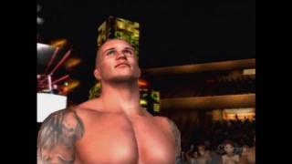 WWE SmackDown vs. Raw 2010 PlayStation 2 Gameplay - Legend