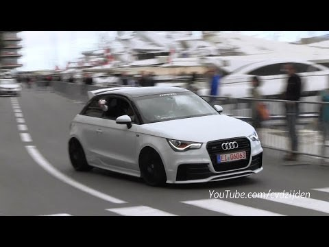 Audi S7 ABT and A1 MTM racing in Monte Carlo! - YouTube