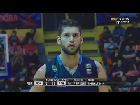 Argentina vs USA - Final Americup 2017
