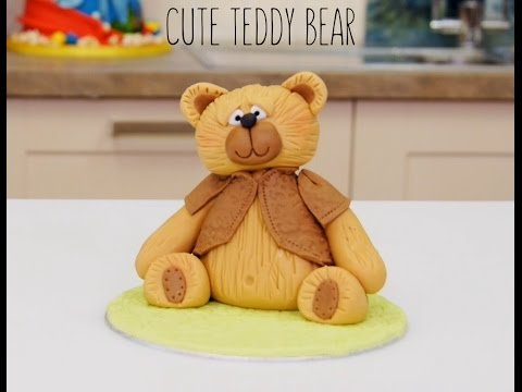 How To Make Fondant Icing Teddy Bear Cake Topper