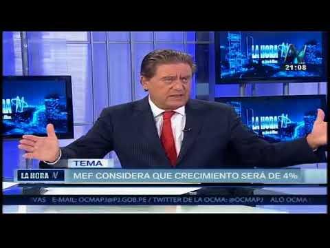 05/05/2016 - Entrevista a Waldo Mendoza sobre el MMM 2017-2019 (Canal N)