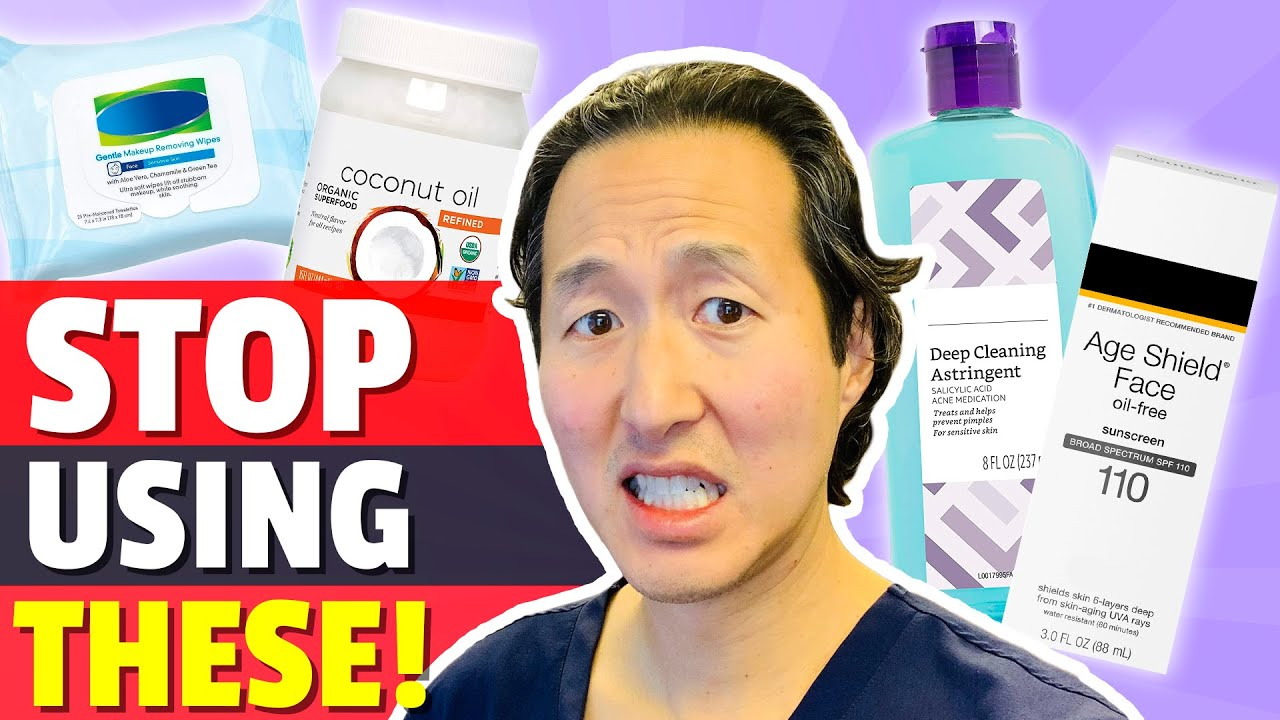 Five Skin Care Products You MUST AVOID! From a Holistic Plastic Surgeon