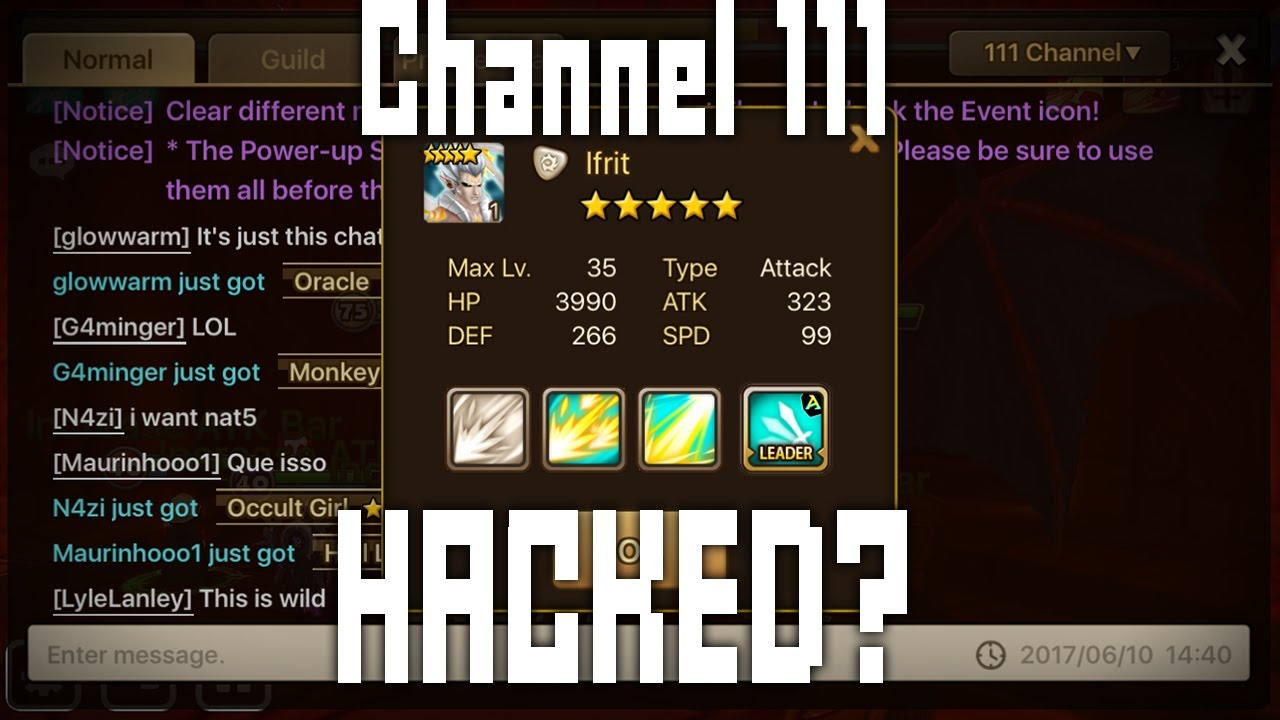 summoners war chat channels
