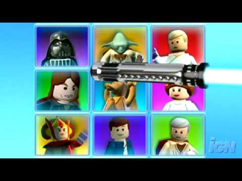Lego Star Wars: The Complete Saga Trailer - YouTube