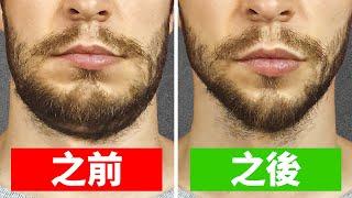 6分鐘消除肥胖臉頰並強化下巴的運動