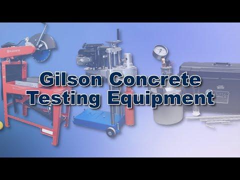 Gilson Concrete Testing Equipment