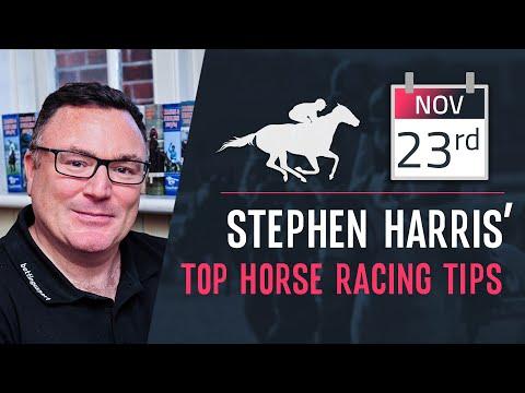 Stephen Harris' Top Horse Racing Tips For Saturday 23rd November