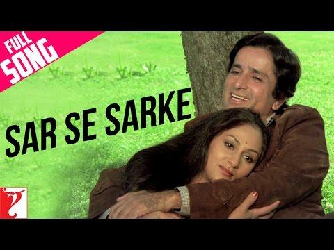 Sar Se Sarke - Full Song | Silsila | Shashi Kapoor | Jaya Bachchan | Kishore Kumar | Lata Mangeshkar