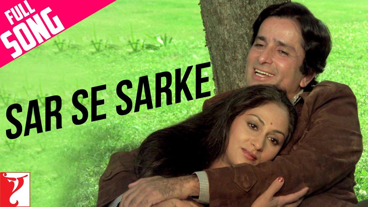 Sar Se Sarke - Full Song | Silsila | Shashi Kapoor | Jaya Bachchan | Kishore Kumar | Lata Mangeshkar #1