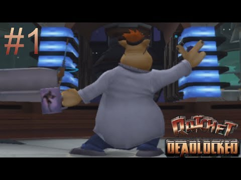 Let's Play Ratchet: Deadlocked Part 01: Kidnapped