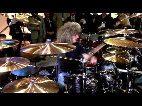 Tommy Aldridge - Yamaha Live Custom - NAMM 2013 (DRUMEO)