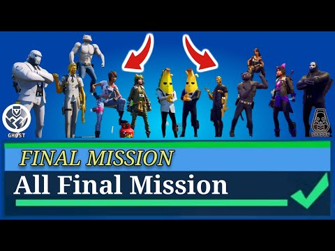How To UNLOCK All Shadow And Ghost Styles -  All Fortnite Faction Missions (Season 2)
