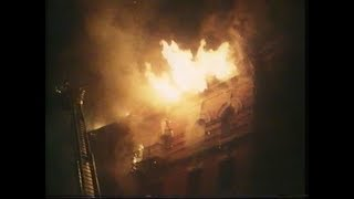 South Bronx fire   Apartment Block Fire   1980's South Bronx   Only in America   1980