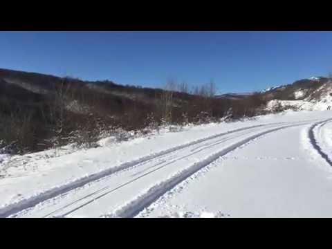 Зима в горах Чечни.  2016