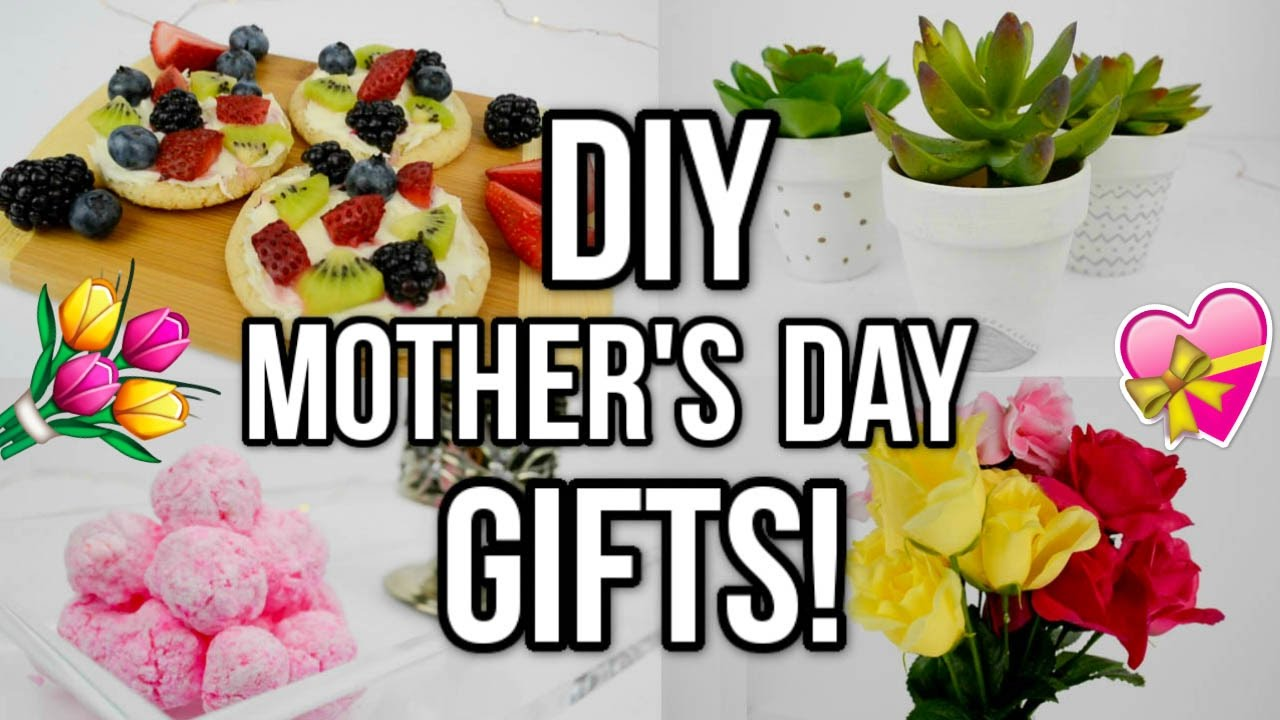 DIY Mother's Day Gift Ideas! Easy + Last Minute! - YouTube