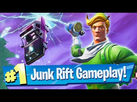 NEW Junk Rift Gameplay + Glitched Consumables – Fortnite Battle Royale