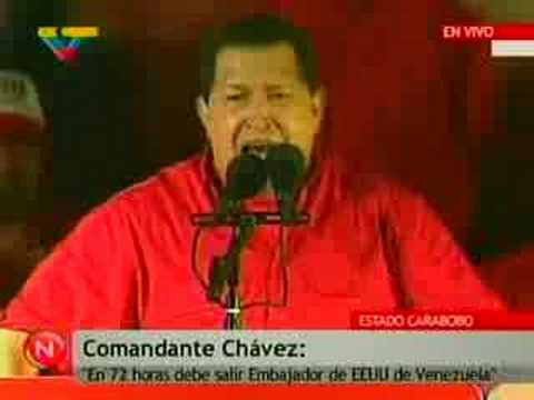 Lord Ivan Canas: Venezuela boots out US Ambassador. Read the 'more info'