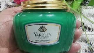 Yardley 39 s of London English Lavender Brilliantine traditional pomade review