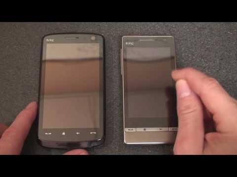 Showdown: HTC Touch HD vs Touch Diamond2