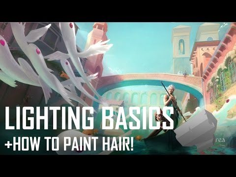 Critique Hour! Lighting basics, form studies and how to paint hair!